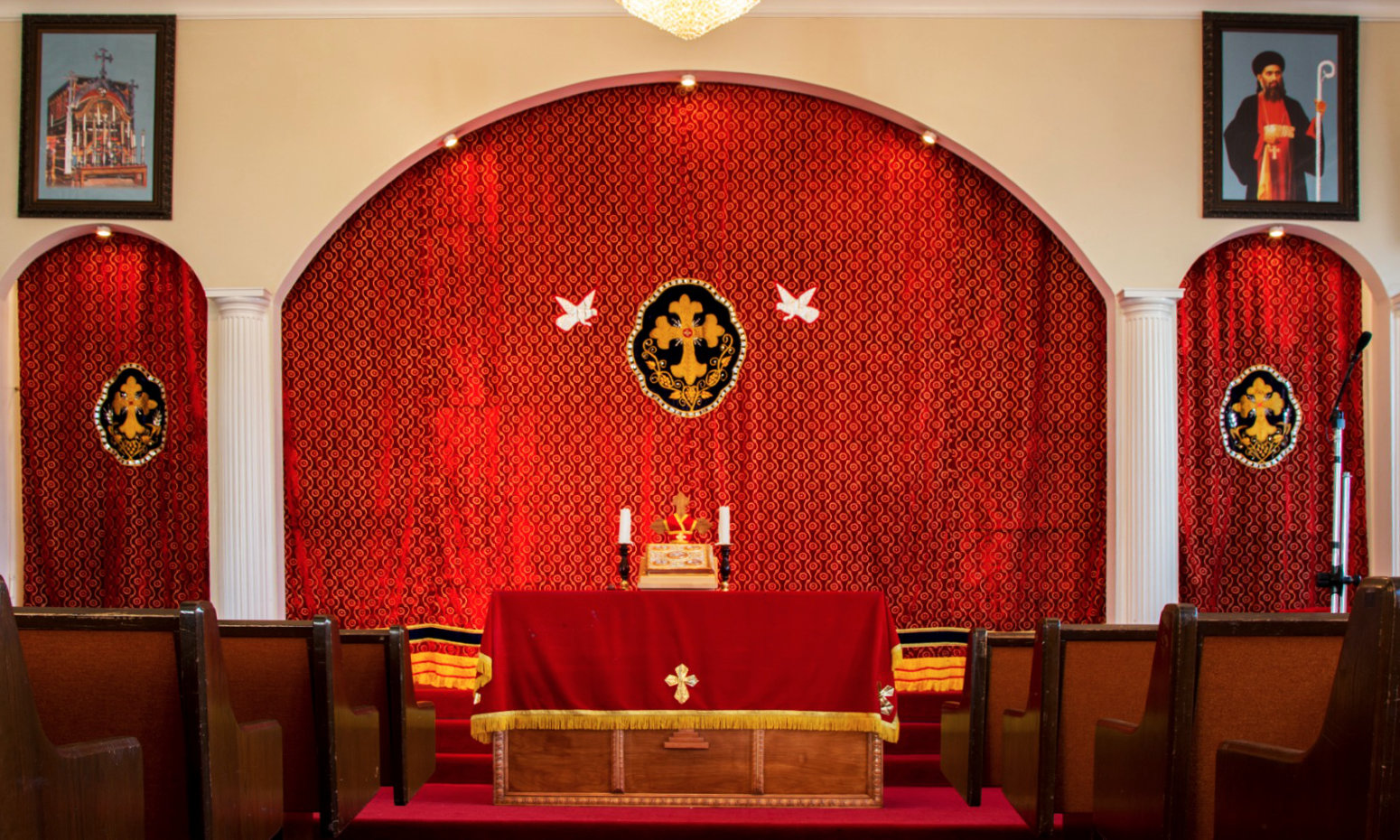 St. Mary's Jacobite Syriac Orthodox Church, San Francisco, Bay Area, CA